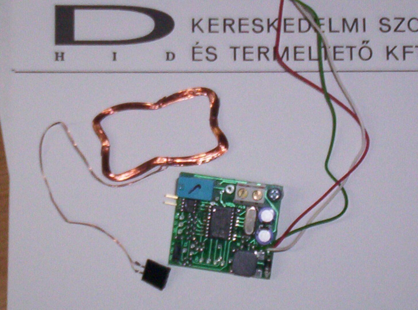 D-HID - Sector beléptető KDC-1803-ba szerelhető kártyaolvasó