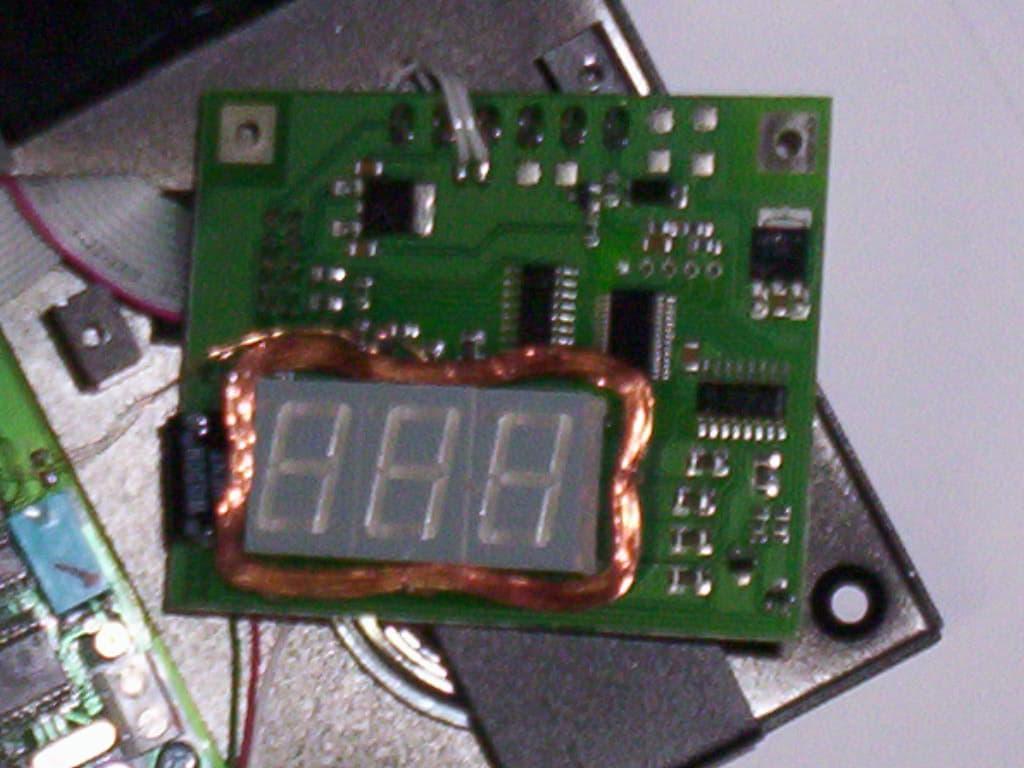 Felszerelt antenna