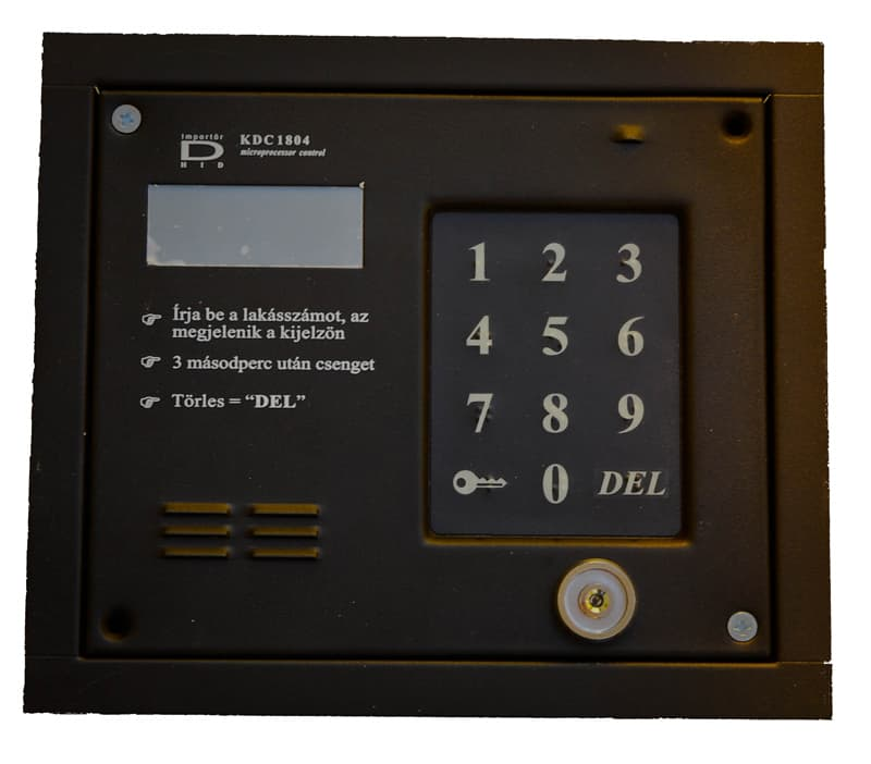 KDC-1804 DALLAS kulcsos klaviatúra