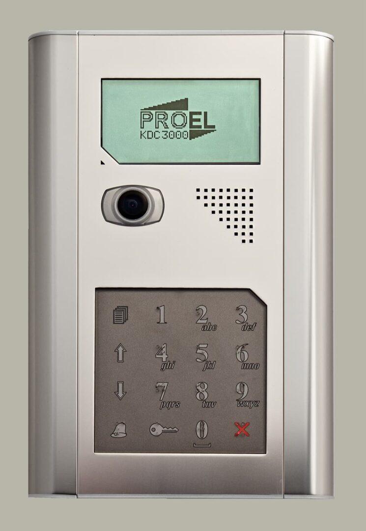 KDC-3000V, KDC-3100V videó klaviatúra